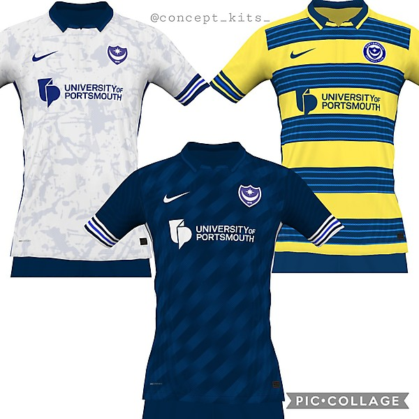 Portsmouth away and third ideas