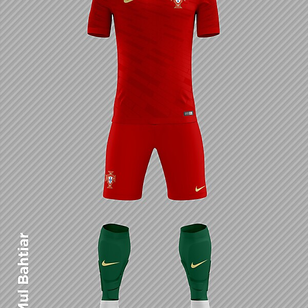 Portugal 2018 FIFA World Cup Home Kit