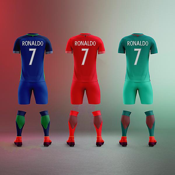 Portugal x Nike - All back