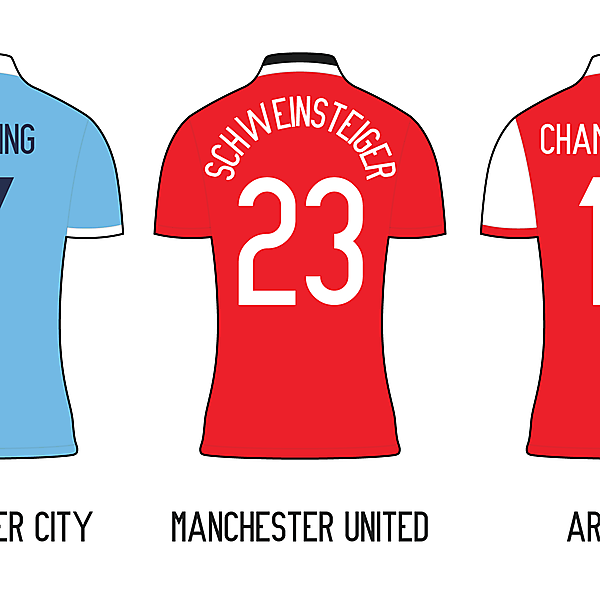 Premier League Minimalist Kits