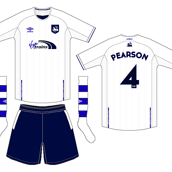Preston NE Umbro Home Kit