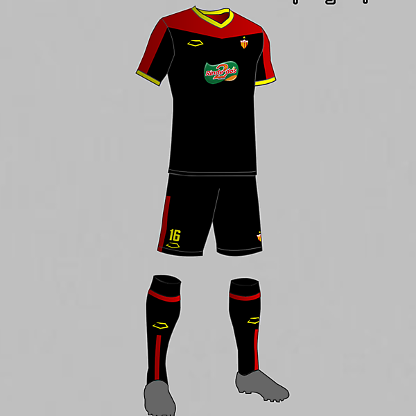Progreso (Uruguay) Away  Kit 2016