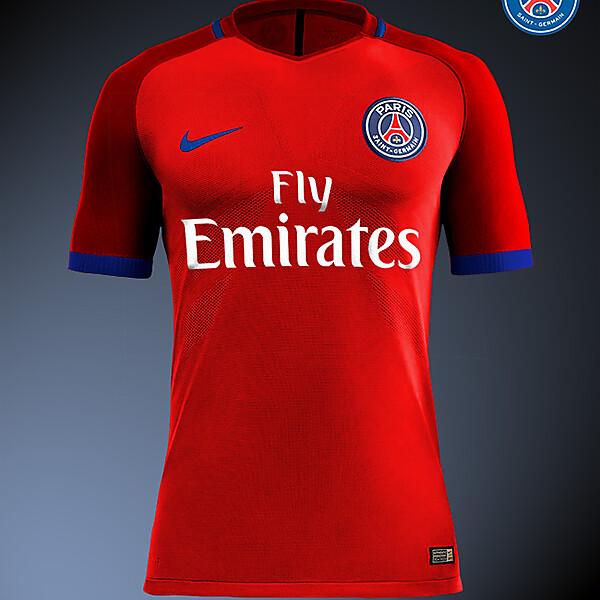 PSG - Paris Saint-Germain 16/17 Nike Away kit