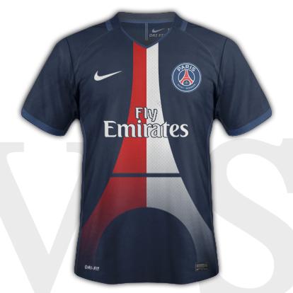 PSG Home shirt