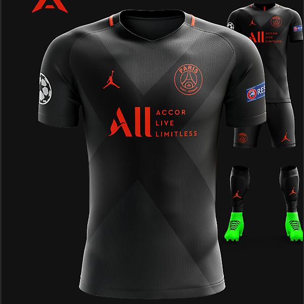 PSG Jordan 2021 CL Kit