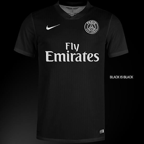 PSG Nike kit 2015-2016 Black