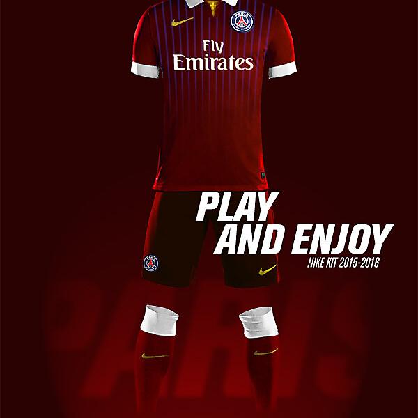 PSG Nike Third Kit 2015-2016