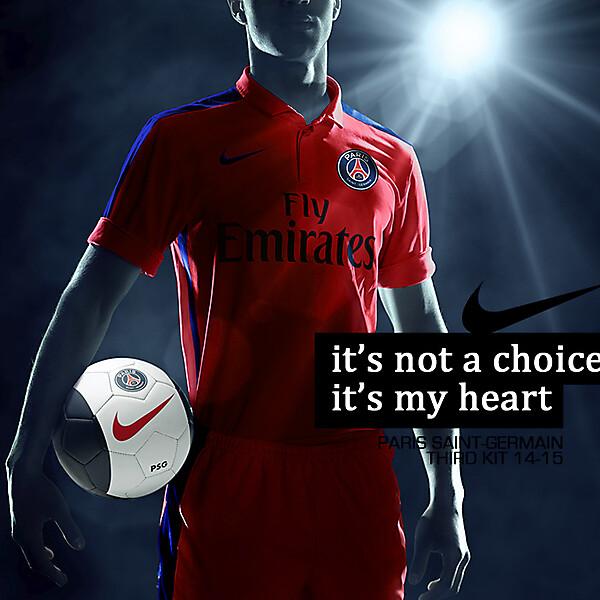 PSG Third Kit 14-15 Neon
