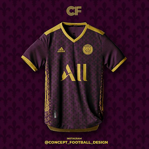 PSG Third Kit Adidas