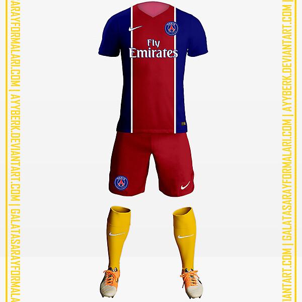 PSG x Yellow Socks 16-17