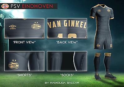PSV EINDHOVEN Football Concept Kit 2018/2019
