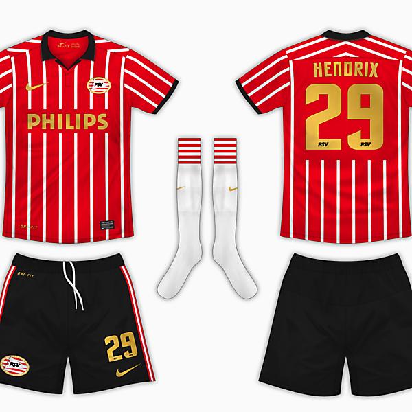 PSV Eindhoven Home Kit - Nike