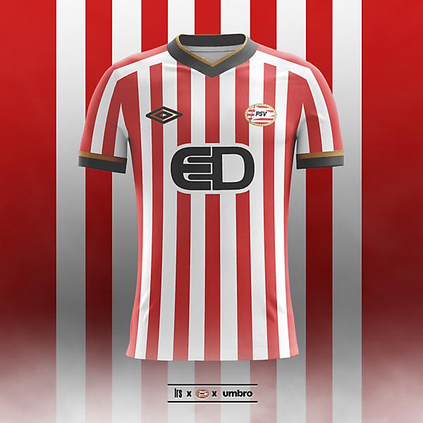 PSV x Umbro   2018/19 Home Shirt Concept