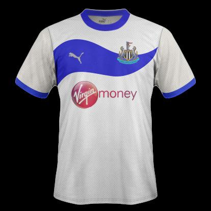 Newcastle Away shirt 12-13