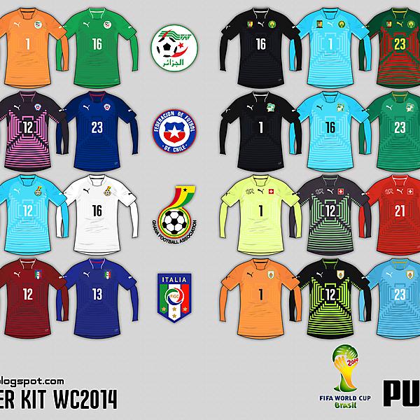 Puma 2014 World Cup GK