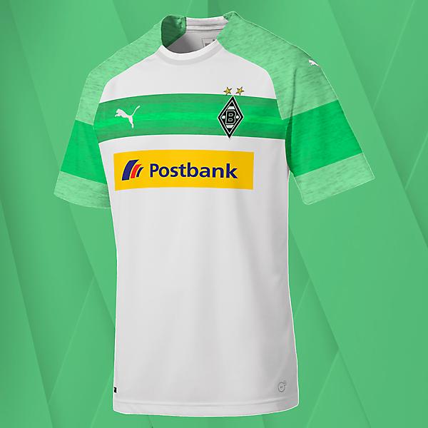 Puma Borussia Monchengladbach Home Jersey Concept