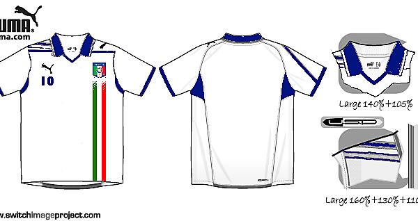 Italy Away Shirt
