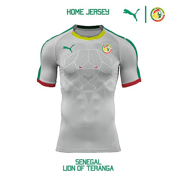 Puma Senegal National Team Home Jersey Concept
