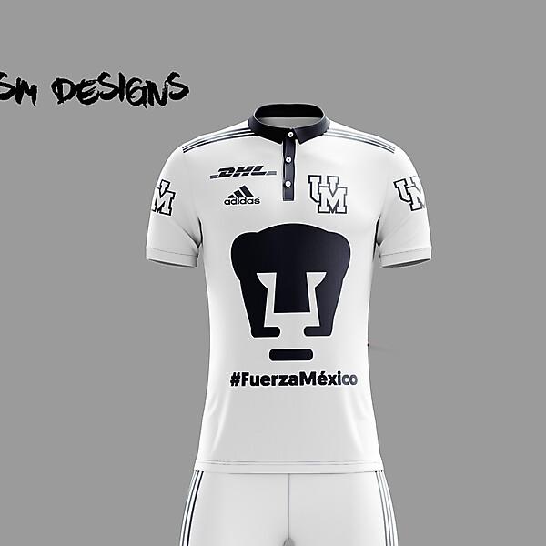 Pumas UNAM Adidas 2018 Alternate Kit