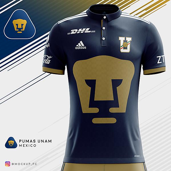 Pumas UNAM x Adidas - Home Kit
