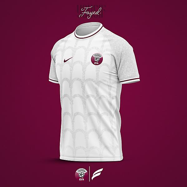Qatar football shirt