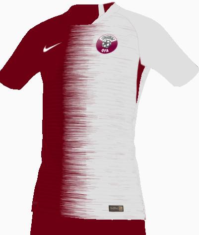 Qatar home kit 18