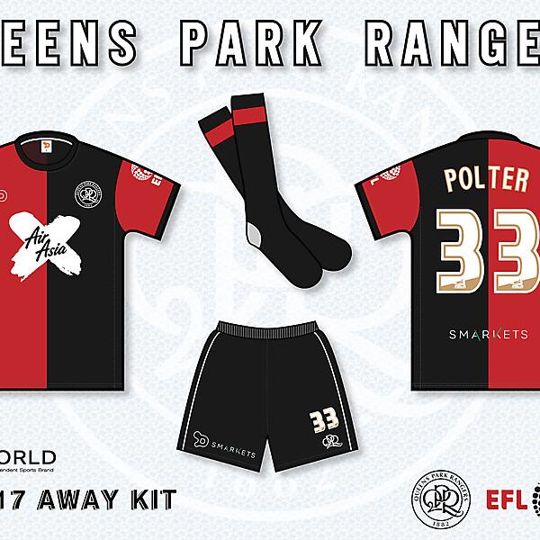 QPR 2016/17 Away Kit