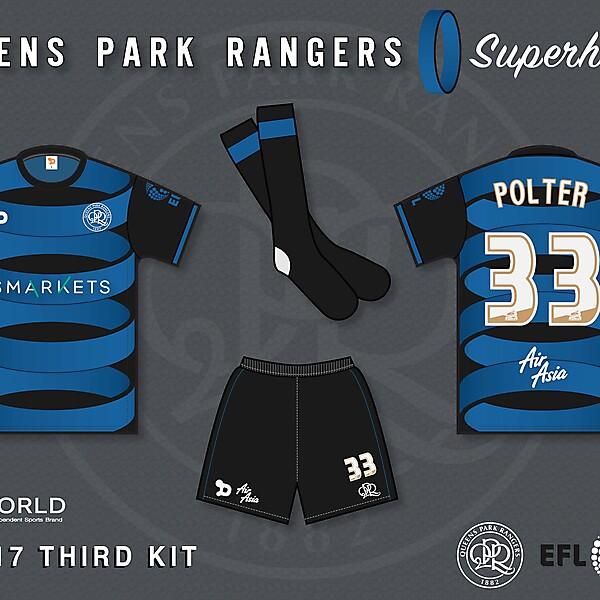 QPR 2016/17 Third Kit