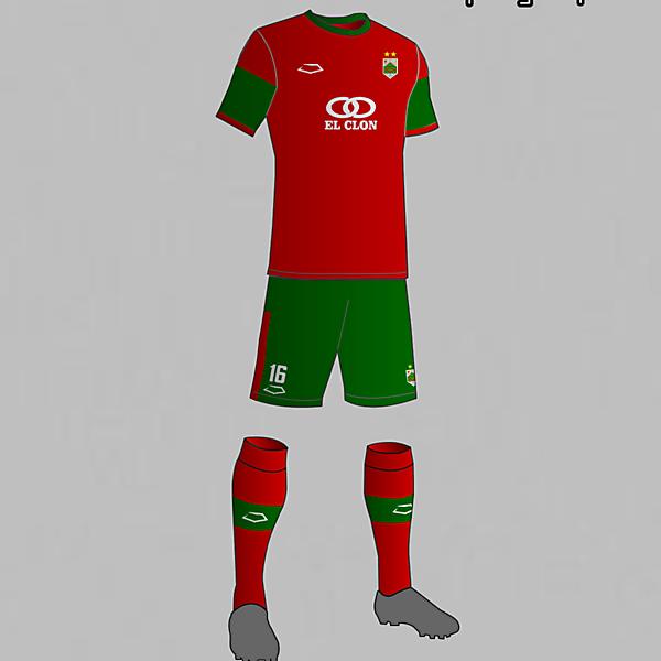 Rampla Juniors (Uruguay) Third Kit 2016