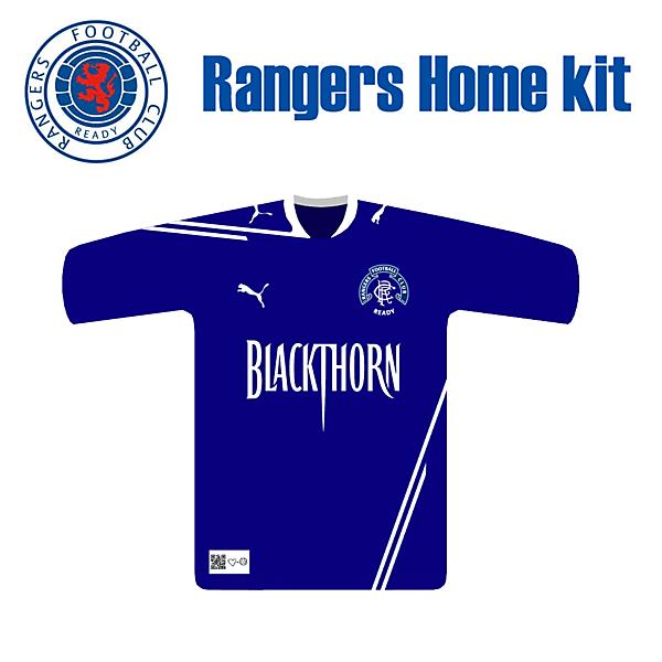 Rangers Fantasy Home Kit