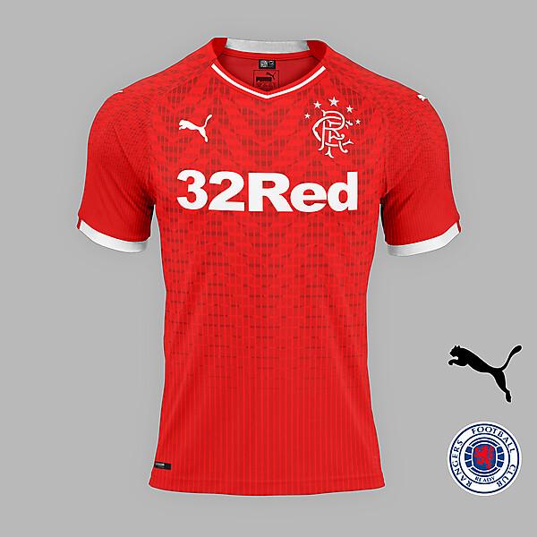 Rangers away concept