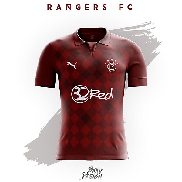 Rangers FC 16/17 Away Concept