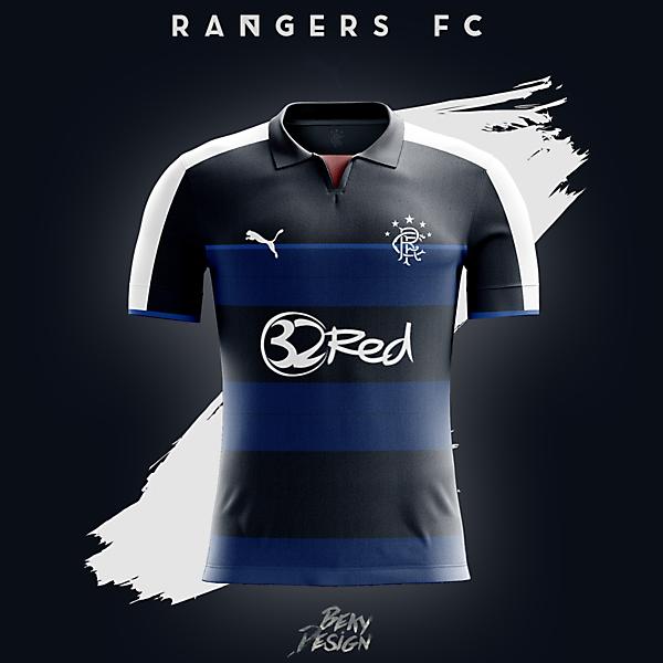 Rangers FC 16/17 Home Concept