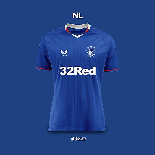 Rangers Football Club - Home Kit 2020/21 Concept