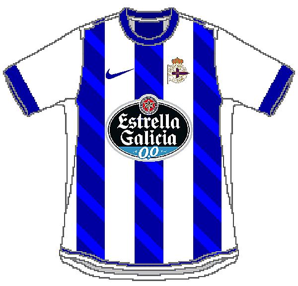 Deportivo de La Coruña Nike Home