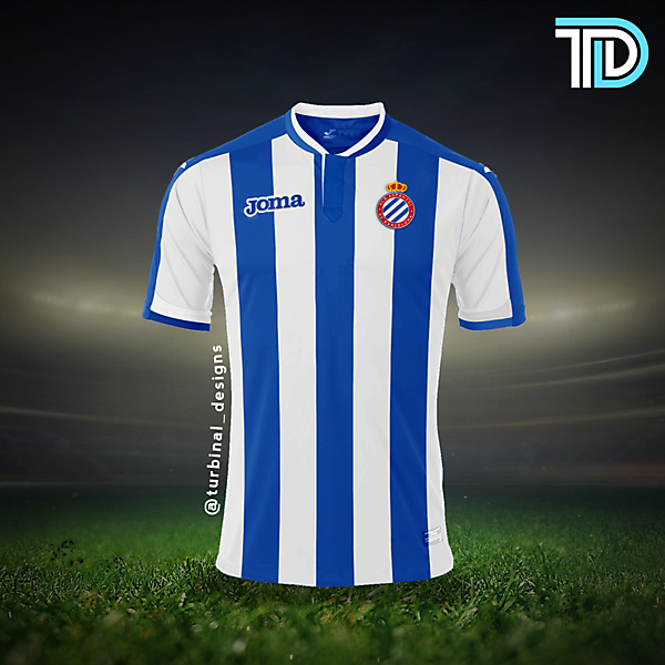 RCD Espanyol Home Kit Concept