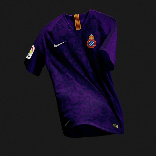 RCD Espanyol Nike Away Kit Concept