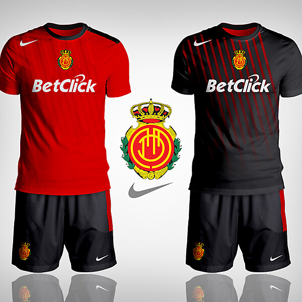 RCD Mallorca Nike kit