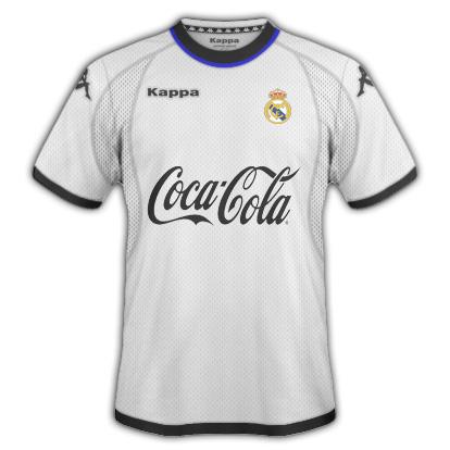 Real Madrid C.F Kappa /Home and Away shirt\\