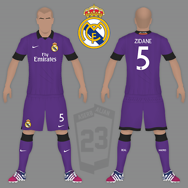 Real Madrid Nike Alternate