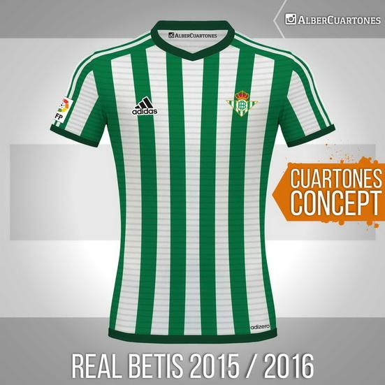 Real Betis2015 / 2016 Concept Shirt