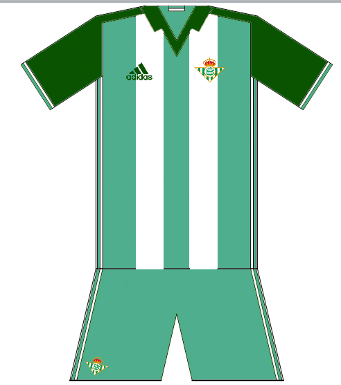 Real Betis 2016-17 Home Idea