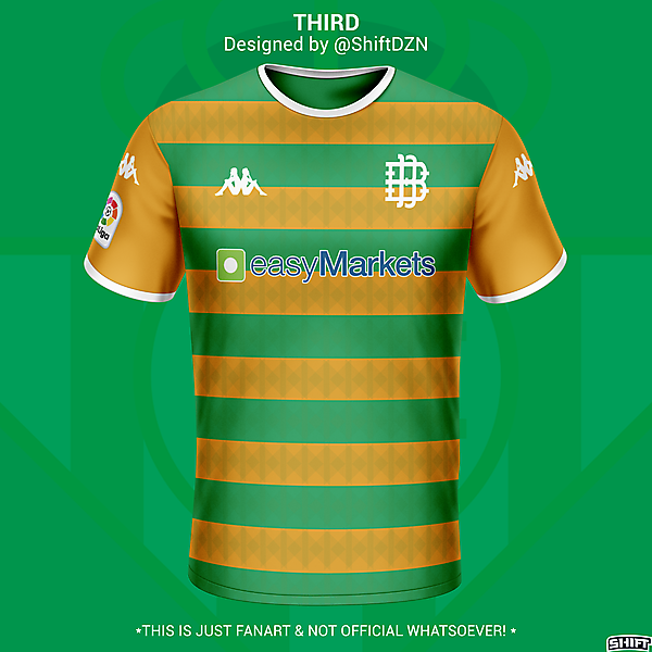 Real Betis Third Jersey Concept