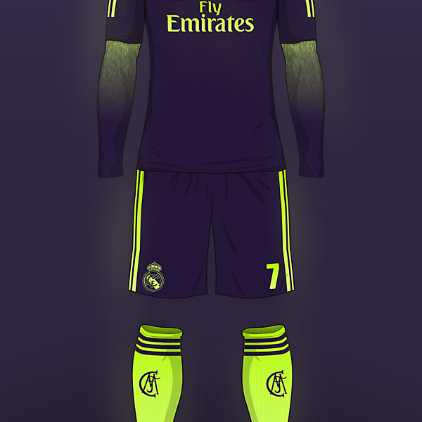 Real Madrid - Away Kit (concept)
