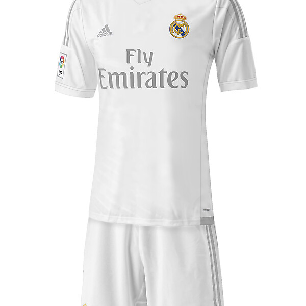 Real Madrid - Home 15/16