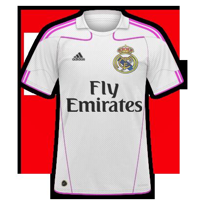 Real Madrid 16/17 home kit