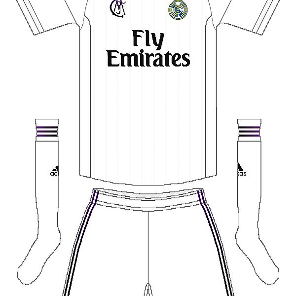 Real Madrid Adidas Home Kit