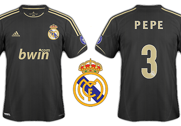 Real Madrid 2012-13 kits