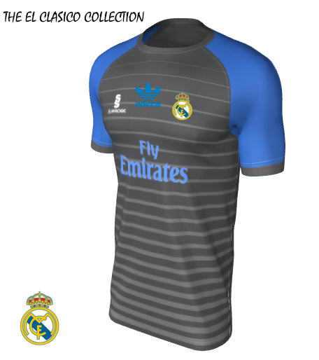 Real Madrid Away El Clasico Collection