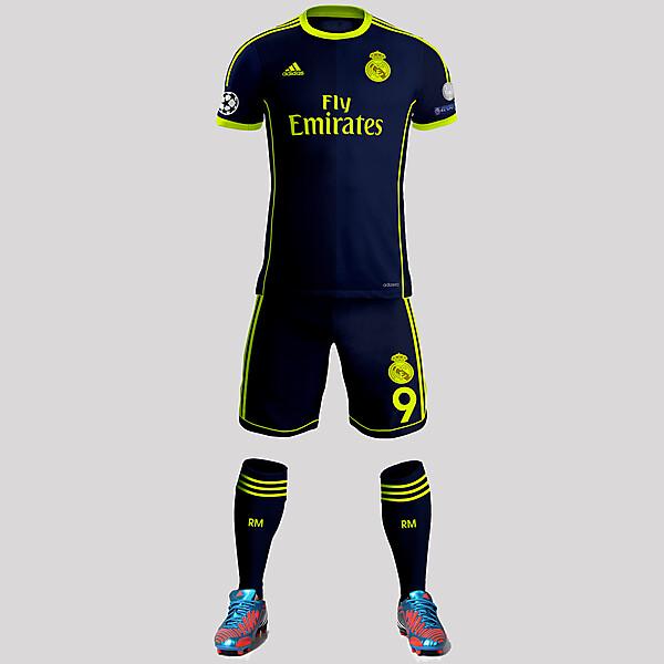 Real Madrid Away Kit